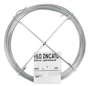 Matassina filo zincato mm 0,8x40 ml