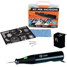 Dremel set per incisioni 6 w